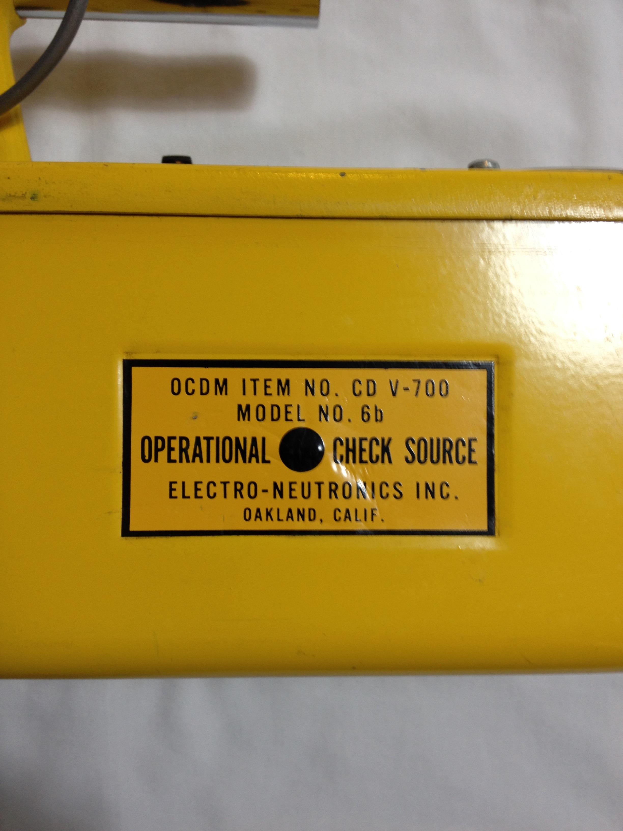 Geiger Counter Headset CDV VICTOREEN