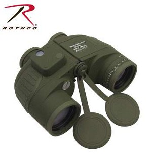 Military Type 7 x 50MM Binoculars, By Rothco